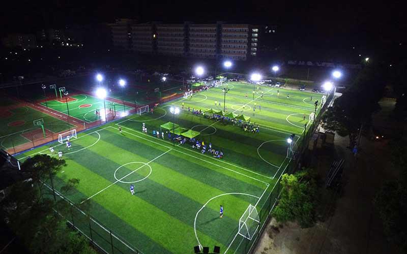 نورپردازی سالن ورزشی فوتبال