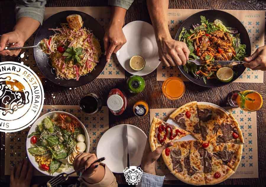 رستوران ایتالیایی جنارو