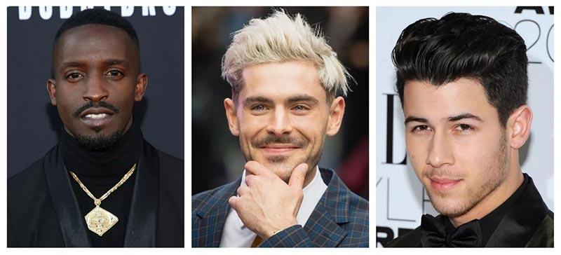 مدل موی مردانه صورت مثلثی