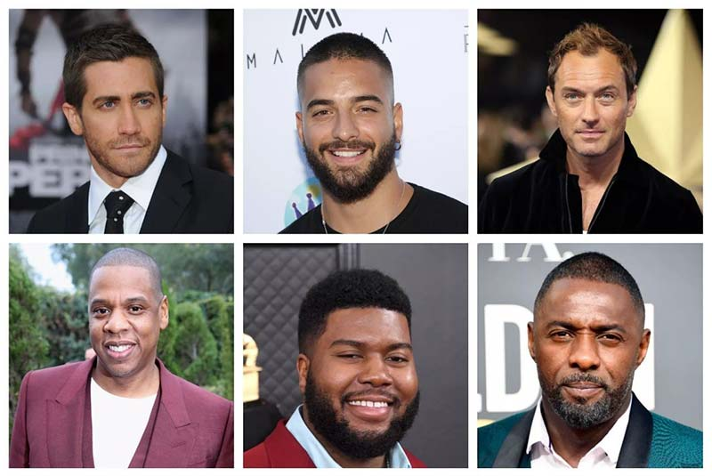 مدل موی مردانه صورت بیضی