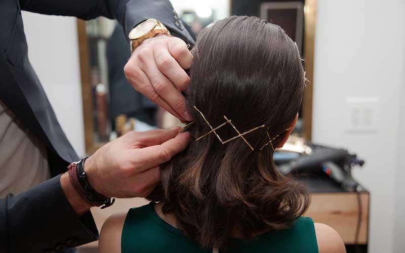 تزیین مدل موی کوتاه دخترانه