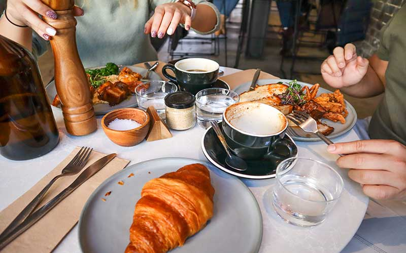 صبحانه فرانسه