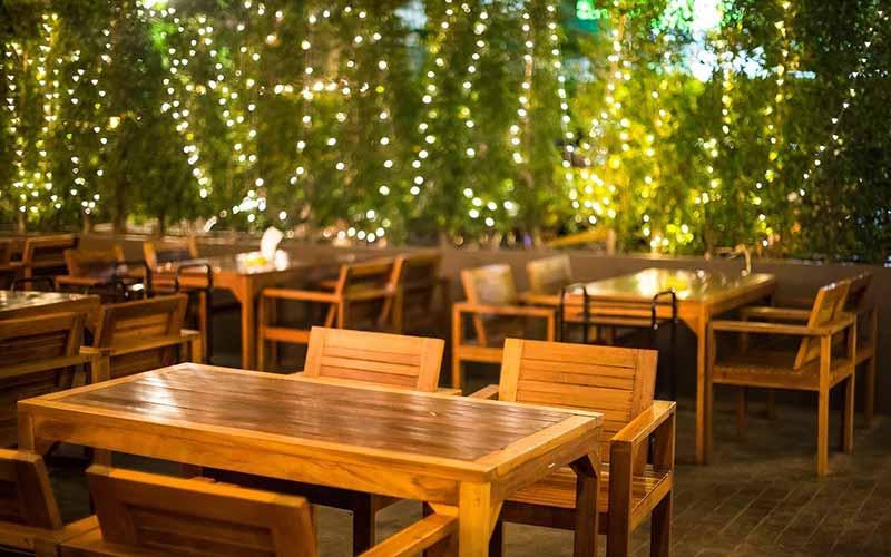 بهترین رستوران فضای باز تهران