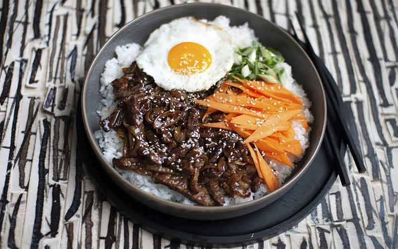 غذای ژاپنی گیودون