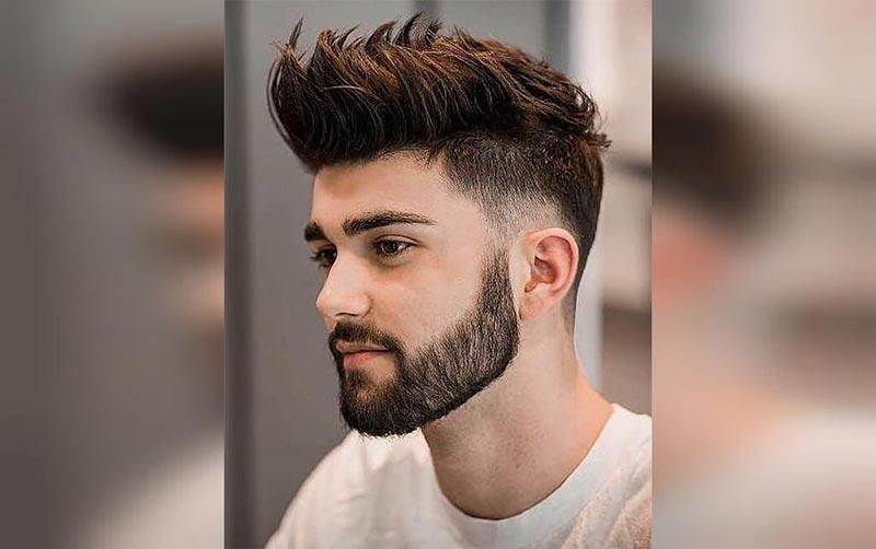 مدل موی پسرانه خامه ای