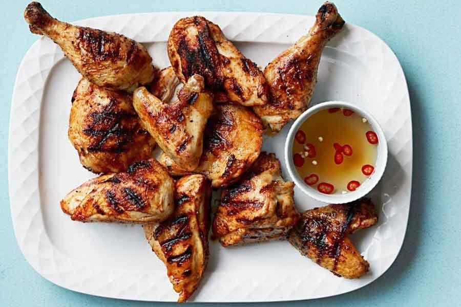 پخت مرغ با سرکه