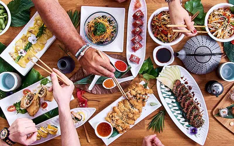 رستوران ژاپنی در تهران