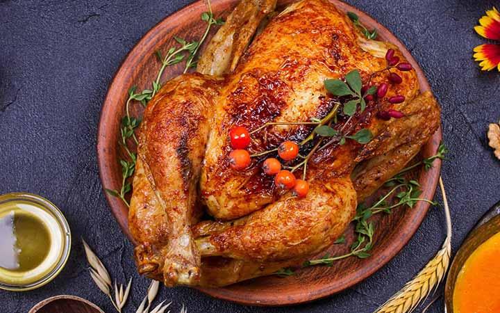 روش های پخت مرغ